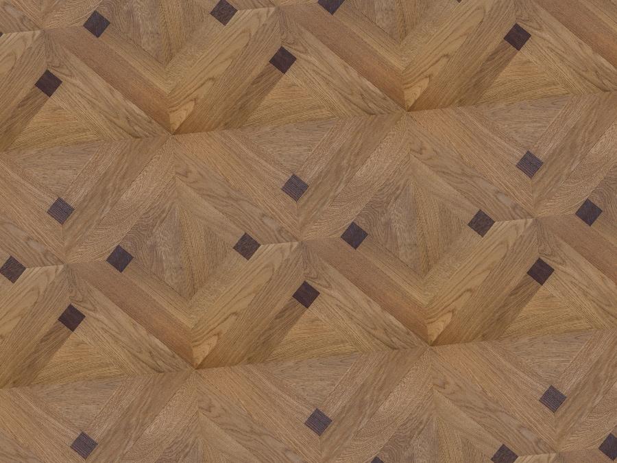Mosaic parquetry, square parquetry
